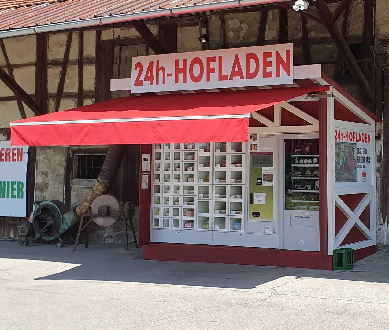 24h Hofladen Lebensmittelautomat Friedrichshafen | Obstautomat & Fleisch 1
